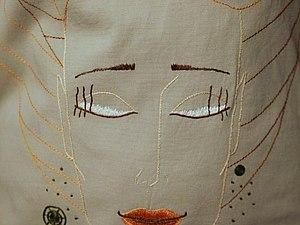 Вышивка на платье | Ярмарка Мастеров - ручная работа, handmade