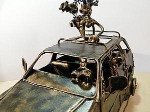 Делаем объемную модель «Шевроле Тахо» с влюбленной парой. Ярмарка Мастеров - ручная работа, handmade.