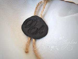 Имитация сургучовой печати (полимерная глина)   Ярмарка Мастеров - ручная работа, handmade