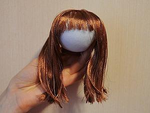 Волосы для кукол. Обзор материалов (краткий и неполный)   Ярмарка Мастеров - ручная работа, handmade