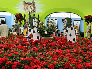 Цветочная выставка в Хэмптон-Корте: современные тенденции в дизайне сада. Ярмарка Мастеров - ручная работа, handmade.
