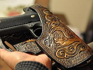 Кожаная кобура для Colt 1911-A1.45 (Часть 5 и последняя) | Ярмарка Мастеров - ручная работа, handmade