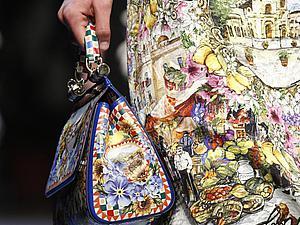 «Аксессуаров много не бывает»: яркие и стильные детали коллекции Dolce&Gаbbana весна-лето 2016 | Ярмарка Мастеров - ручная работа, handmade
