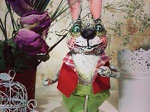 Заяц Егорка   Ярмарка Мастеров - ручная работа, handmade