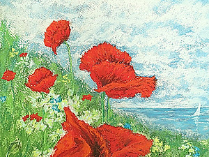Согрейтесь красками лета! | Ярмарка Мастеров - ручная работа, handmade