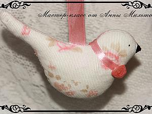 Шьем птичку из ткани | Ярмарка Мастеров - ручная работа, handmade