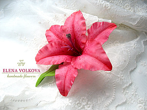 Лилия во всей своей красе! | Ярмарка Мастеров - ручная работа, handmade