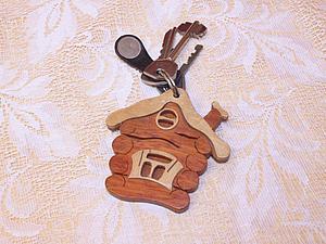 Что нам стоит дом построить? Создаем брелок «Милый дом» из кусии и клена. Ярмарка Мастеров - ручная работа, handmade.