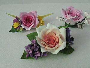 Лепим цветы из полимерной глины | Ярмарка Мастеров - ручная работа, handmade