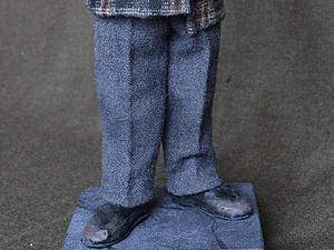 Туфли для авторских кукол: делаем старенькими и поношенными за 5 минут. Ярмарка Мастеров - ручная работа, handmade.
