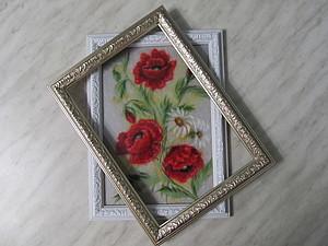 Как самостоятельно поменять стекло или багет в картине из шерсти | Ярмарка Мастеров - ручная работа, handmade