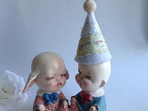 Малыши с вращающимися головками | Ярмарка Мастеров - ручная работа, handmade
