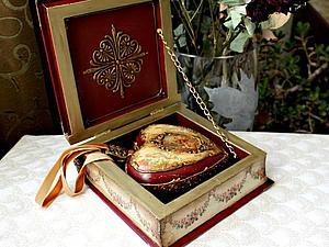 Побольше фотографий шкатулки с сердечком. | Ярмарка Мастеров - ручная работа, handmade