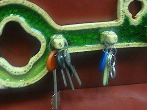 Ключница керамическая (Часть 2). Ярмарка Мастеров - ручная работа, handmade.