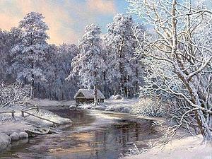 Зимнее настроение | Ярмарка Мастеров - ручная работа, handmade