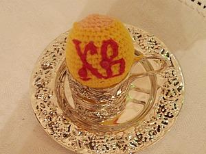 «Дорого яичко к Христову дню». Вяжем оригинальный пасхальный сувенир. Ярмарка Мастеров - ручная работа, handmade.