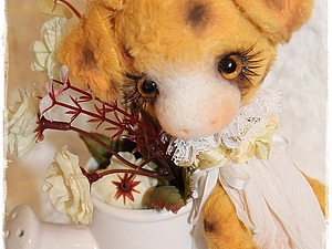 Янтарная Роза | Ярмарка Мастеров - ручная работа, handmade
