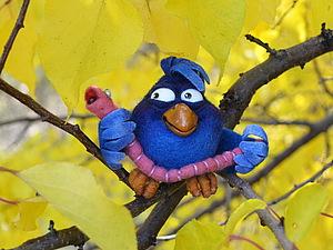Синий птиц. Второй. | Ярмарка Мастеров - ручная работа, handmade