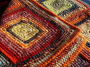Гудбай, плед Красный-красивый! | Ярмарка Мастеров - ручная работа, handmade