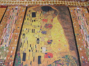 Новое покрывало Климт