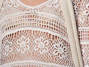 Пошаговый МК цветочного мотива дизайнерского платья | Ярмарка Мастеров - ручная работа, handmade
