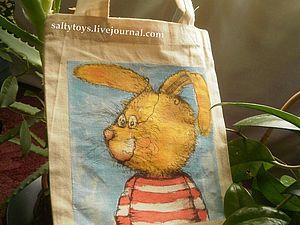 Эко-сумка в подарок!   Ярмарка Мастеров - ручная работа, handmade
