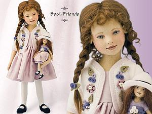 Чудесные куклы из фетра художника-кукольника Мэгги Иаконо из США. | Ярмарка Мастеров - ручная работа, handmade