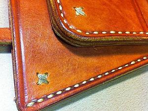 Карманный набор (кошелек+брелок). Рыжий №2. | Ярмарка Мастеров - ручная работа, handmade