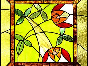 Витражные краски и краски с интелектом | Ярмарка Мастеров - ручная работа, handmade