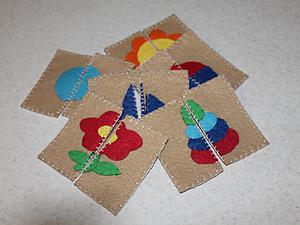"""Мастер-класс: делаем карточки """"Найди пару"""" для самых маленьких. Ярмарка Мастеров - ручная работа, handmade."""