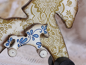 Лошадка с жеребёнком | Ярмарка Мастеров - ручная работа, handmade