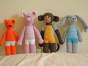 Друзья для малыша | Ярмарка Мастеров - ручная работа, handmade