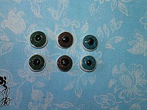 Глазки из пластики | Ярмарка Мастеров - ручная работа, handmade