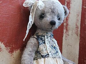 Мастер-класс по созданию мишутки в платье - от Юлии Аладьиной | Ярмарка Мастеров - ручная работа, handmade