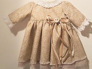 Как пошить тильде платье