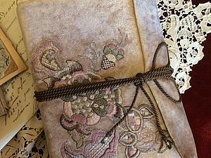 Якобинская вышивка и новый блокнот | Ярмарка Мастеров - ручная работа, handmade