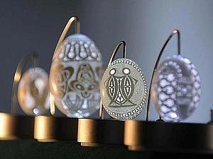Кружева на яичной скорлупе | Ярмарка Мастеров - ручная работа, handmade