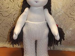 Вязаные колготки для вальдорфской куклы.. Ярмарка Мастеров - ручная работа, handmade.