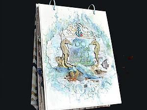 Обзор морского фотоальбома | Ярмарка Мастеров - ручная работа, handmade