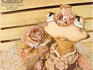 Модная шляпка для куклы | Ярмарка Мастеров - ручная работа, handmade
