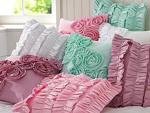 Декоративные подушки в интерьере | Ярмарка Мастеров - ручная работа, handmade