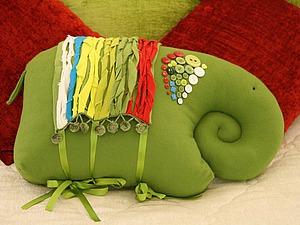Шьем интерьерную подушку
