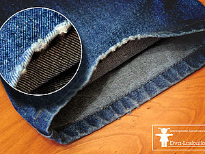 Ремонтируем джинсы   Ярмарка Мастеров - ручная работа, handmade
