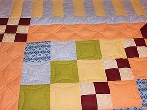 Шьем детское лоскутное одеяло в технике барджелло. Часть вторая. Ярмарка Мастеров - ручная работа, handmade.