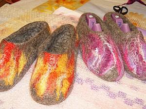 скоростное валяние тапочек | Ярмарка Мастеров - ручная работа, handmade