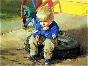 Дети на картинах   Ярмарка Мастеров - ручная работа, handmade