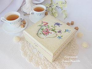 Шкатулке для чая