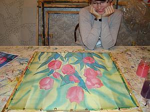 Мастер-класс по  холодному батику   Ярмарка Мастеров - ручная работа, handmade