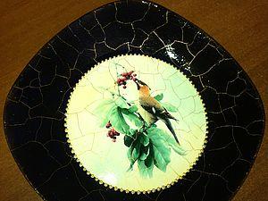 Декупаж тарелки в антикварном стиле. Ярмарка Мастеров - ручная работа, handmade.