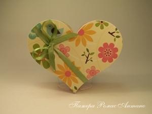 Декорируем коробочку-сердечко. Ярмарка Мастеров - ручная работа, handmade.